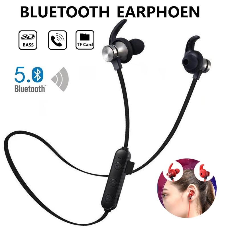 משיכה מגנטית Bluetooth אוזניות עמיד למים ספורט אוזניות 4.2 עם Build-in מיקרופון אוזניות Bluetooth אוזניות