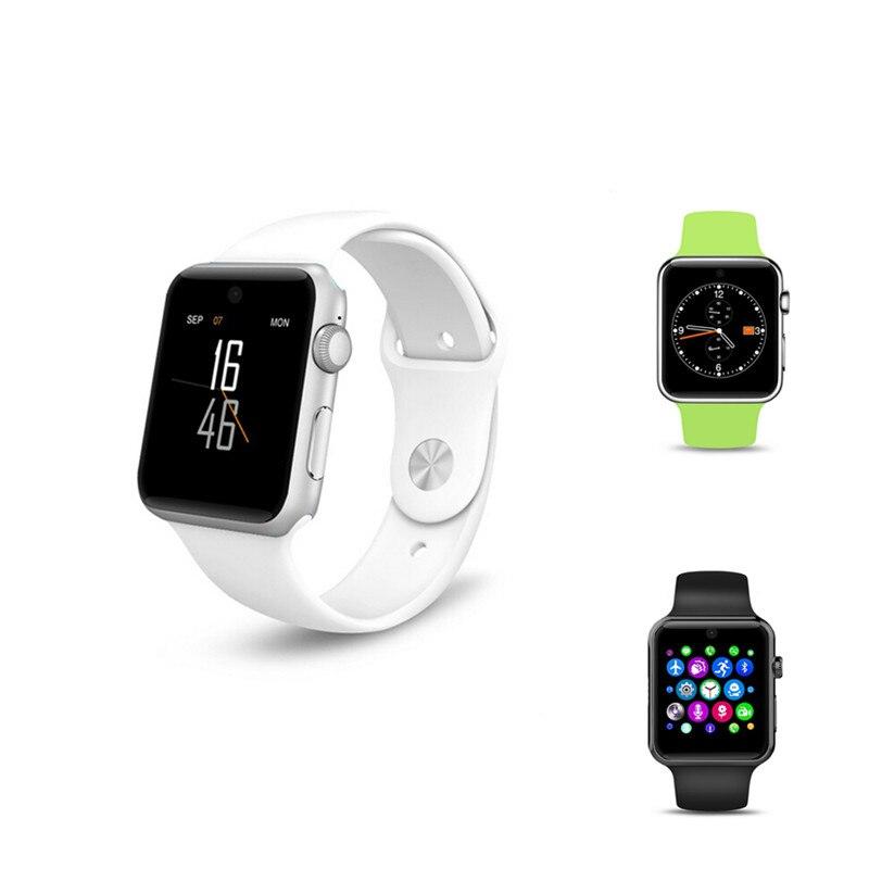 2018 New DM09 Bluetooth Smart Watch Pedometer Anti lost Fitness Tracker 2 5D ARC HD Screen