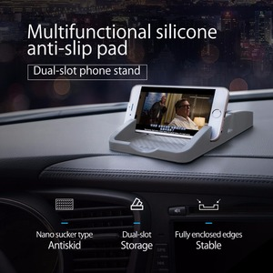 Универсальный автомобильный мобильный телефон ORICO CSP1, силиконовая Нескользящая подставка, многоугольный мобильный телефон, подставка для ...