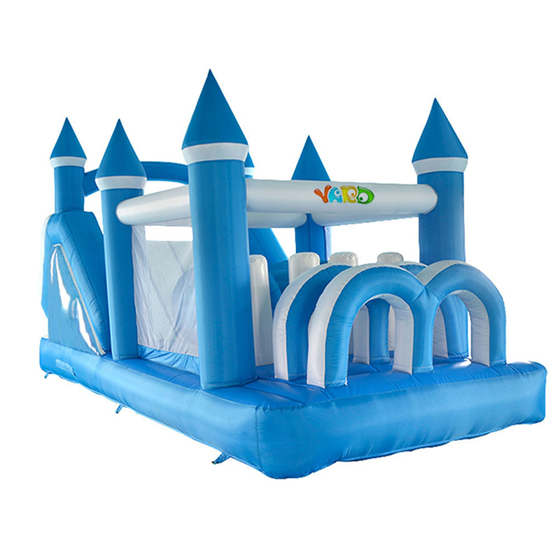 все цены на  YARD Giant Inflatable Games Bounce house Inflatable House Bouncer Jumping Castle Inflatable Castle For Kids Birthday Gift  онлайн
