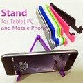En Forma de V Plegable Universal del Sostenedor Del Soporte Del Teléfono Celular Móvil para Smartphones y Tablet Samsung Soporte Ajustable Soporte para Teléfono