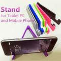 V-Shaped Universal Foldable Mobile Cell Phone Stand Holder for Smartphone & Tablet Samsung Adjustable Support Phone Holder