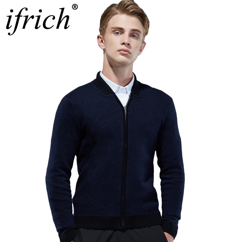 Cardigan hommes marque chandail hommes v-cou solide Slim Fit tricot hommes chandails Cardigan mâle 2018 automne décontracté hauts Hots