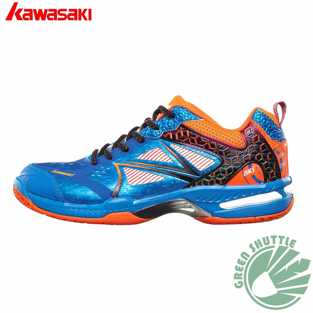 2018 Original Kawasaki Badminton Shoes Men And Women Zapatillas Deportivas Anti-Slippery Breathable K-615 616