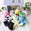 Mylb 10pcs Lot Hot Cute Big Size Animal Hand Puppet Dolls Plush Baby Child Zoo Animal