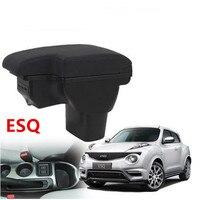 for Infiniti ESQ armrest box NISSAN juke armres box car interior modification dedicated esq rechargeable USB telescopic