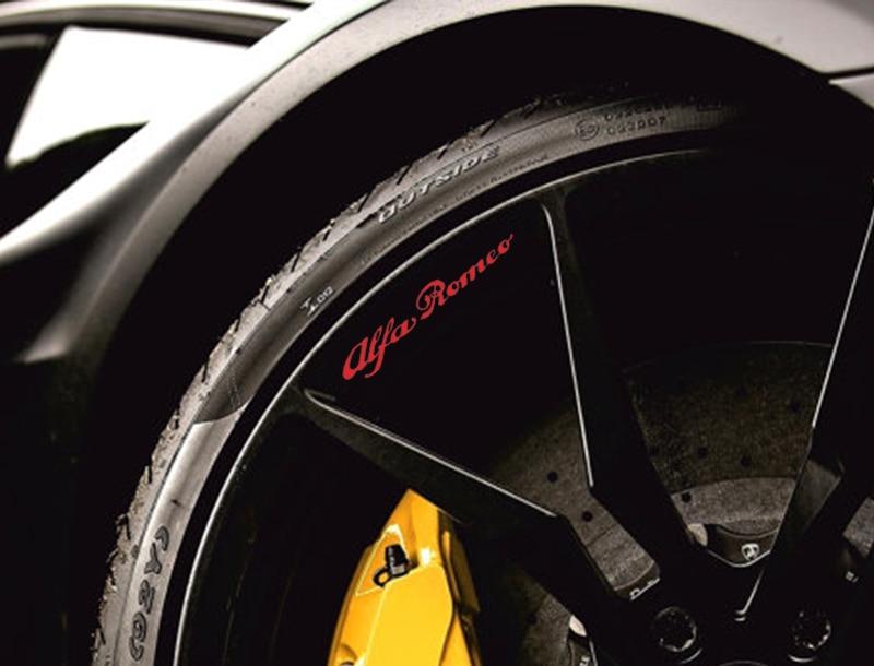 Alfa Romeo HI TEMP CAST VINYL BRAKE CALIPER DECALS STICKERS Car - Bmw brake caliper decals