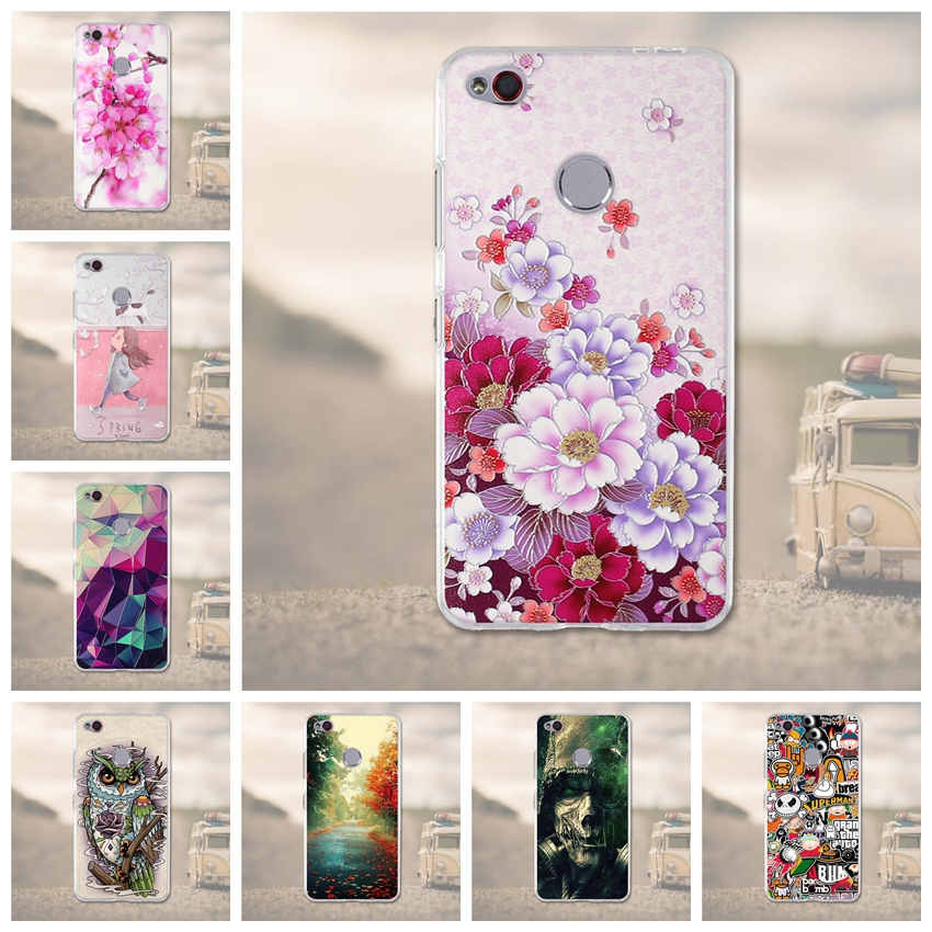 Soft TPU For ZTE nubia N1 Case Silicone Cover for ZTE N1 Cases 3D Relief Flower Mobile P ...