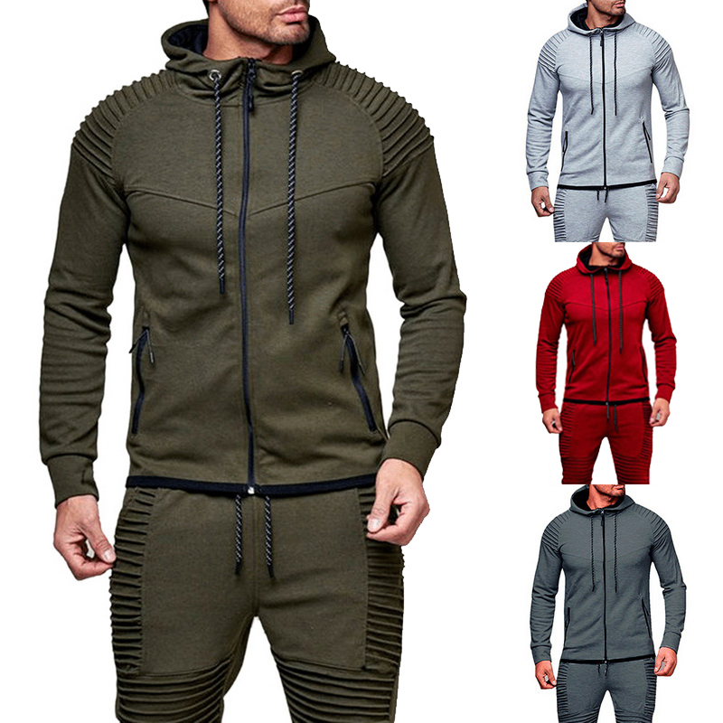 NEW Fashion Zipper Hoodies Men Brand Casual Men Sweatshirt Solid Color Hoodie Jaskets Male Hoodies Men Hoodies & Sweatshirts