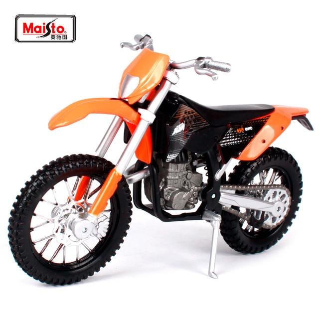 Maisto 1 18 Ktm 450 Exc Motorcycle Bike Diecast Model Toy New In Box