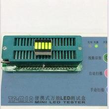 Livre o navio 100 pçs digital tubo ânodo 5 segmento amarelo verde display digital bateria para diy preço direto da fábrica