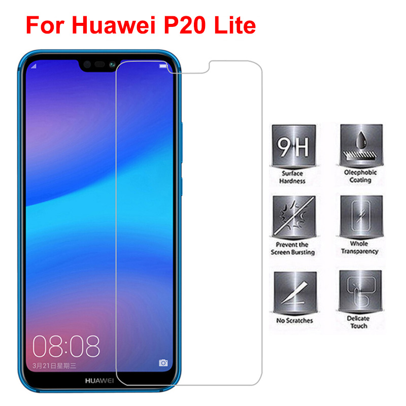 Tempered Glass for Huawei P20 Lite Screen Protector 9H 2.5D <font><b>Phone</b></font> <font><b>Protection</b></font> <font><b>Film</b></font> Protective Glass for Huawei P20 Lite