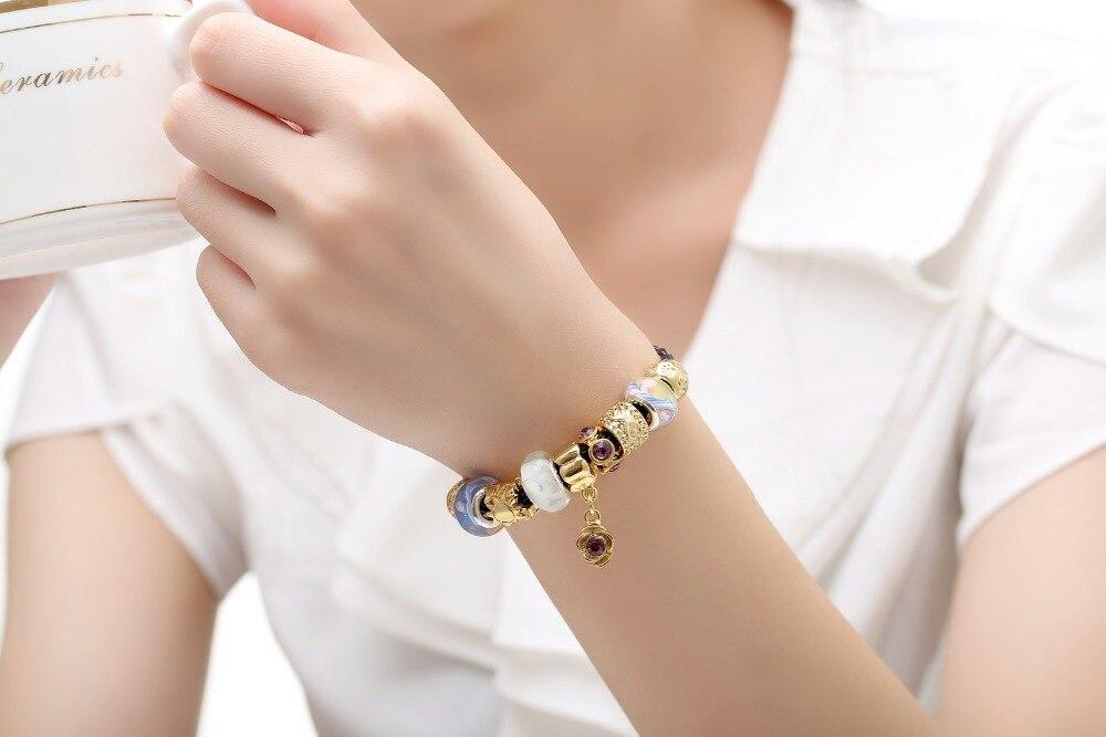 glass beads bangles