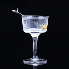 Europe Crystal glass wine Martini Handmade crystal carved Cocktail Cup dessert cup Goblet Bar Drinkware