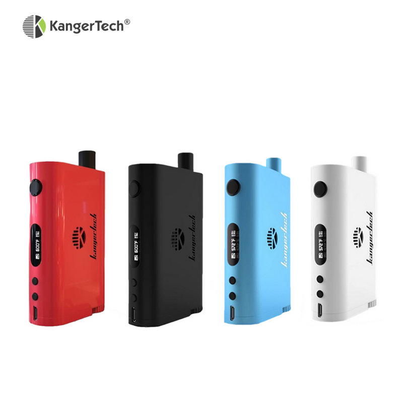 Kangertech Nebox Starter Kit 10ml Capacity 60W TC Box Mod Electronic Cigarette Fit Kanger SSOCC Coils VS Topbox Mini iStick Pico