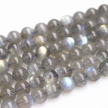 Wholesale Natural AA Labradorite Loose Beads,4/6/ 8/10/12/14mm Round beads For DIY Women Bracelet Necklace Ear Stud Accessories(China)