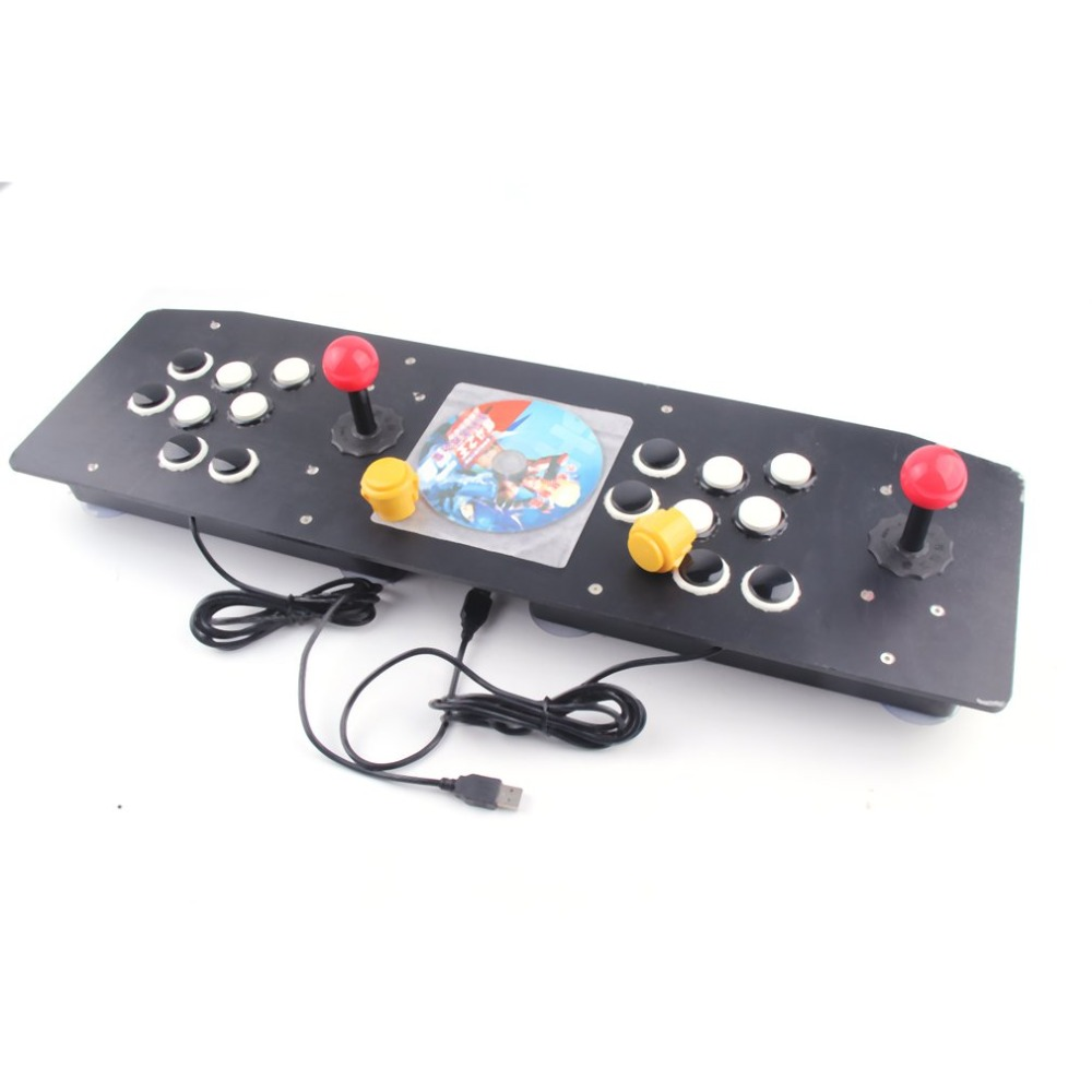 Ergonomique Design Double Arcade Stick jeu vidéo manette de commande Gamepad Pour Windows PC Profiter jeu amusant