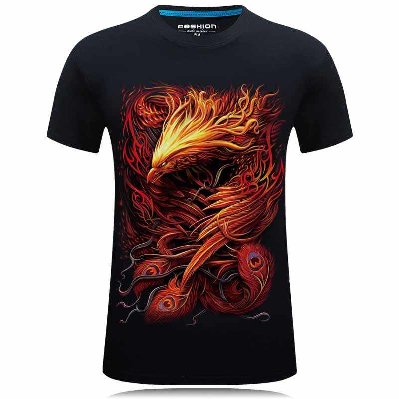 ffa3852246d8 2018 Brand clothing 3D Tops&Tees Casual tshirt homme Hip Hop T shirt Men  Fashion animal printed
