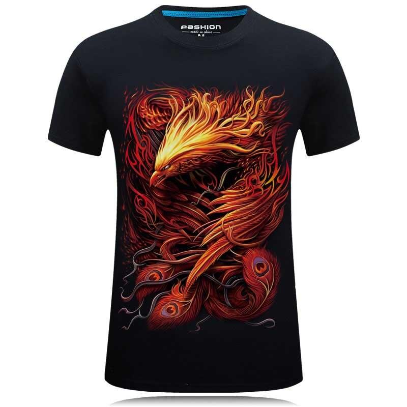 2018 Brand clothing 3D Tops&Tees Casual tshirt homme Hip Hop   T     shirt   Men Fashion animal printed   T  -  shirt   Factory Price camisetas