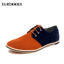 Men Suede oxfords Shoes Summer Style Soft Moccasins Men Loafers Leather Shoes Male Suede Leather Rubber Flat Shoes недорого