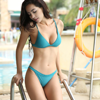 cd4c36a447 SHEKINI Swimwear Padded Two Piece Triangle Bikini Set Brazilian Swimsuits  for Women