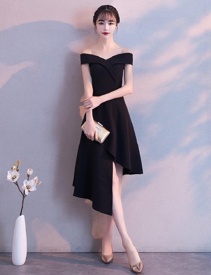 Вечернее платье короткое спереди и длинное сзади элегантное Пышное Бальное Платье для вечерние плюс Размеры асимметричные платья для Для ж...