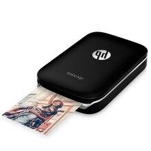 Mini impressora de fotos portátil hp, mini impressora fotográfica de bolso para celular hp com impressão pequena