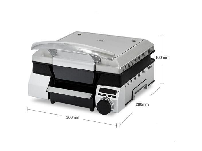 Espetos de Fornos Eupa Máquina Bife Multi-função Profissional Casa Smoke-free Anti-aderente Bakeware Elétrica Grelhado Elétricos