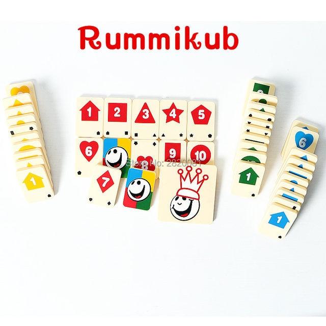 Online Shop Novelty Toy Puzzle Digital Game Rummikub Number Card
