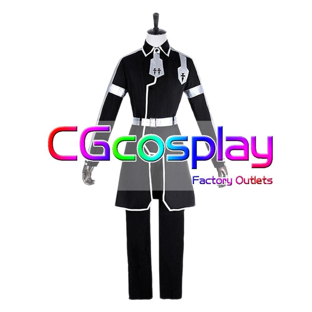 CGCOS Express! SWORD ART ONLINE Alicization Kirigaya Kazuto Uniform Anime Game Cosplay Costume Halloween Christmas Full set New