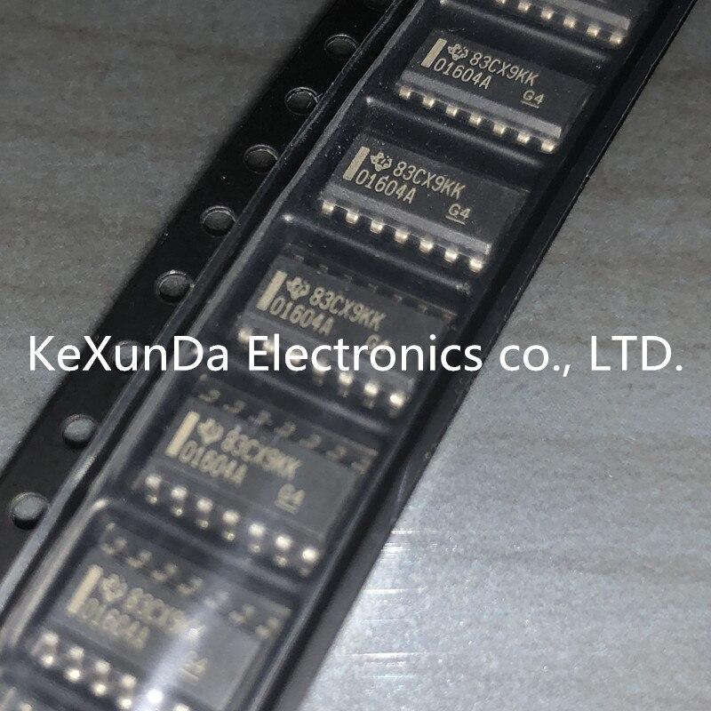 Original 10PCS OPA1604AID OPA1604AIDR O1604A SOP14 IC OPAMP AUDIO 35MHZ RRO 14SOIC 100 NEW