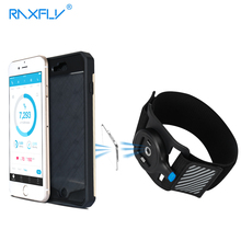 RAXFLY Running Riding Climbing Armbands Belt Clip For Mobile Phone For iPhone 7 6 6S Plus Samsung Sport Belt Arm Band armband for iphone 6