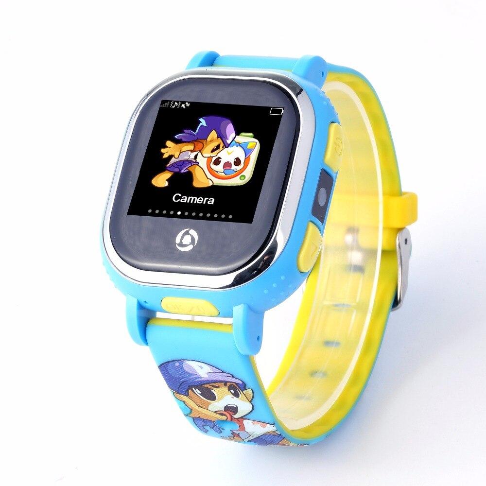 Tencent QQ Enfant Montre Intelligente Enfants Montre Intelligente WiFi LIVRES GPS Tracker Bébé L'anti Repère Perdu Avec Appel SOS D'écran Tactile imperméable à l'eau