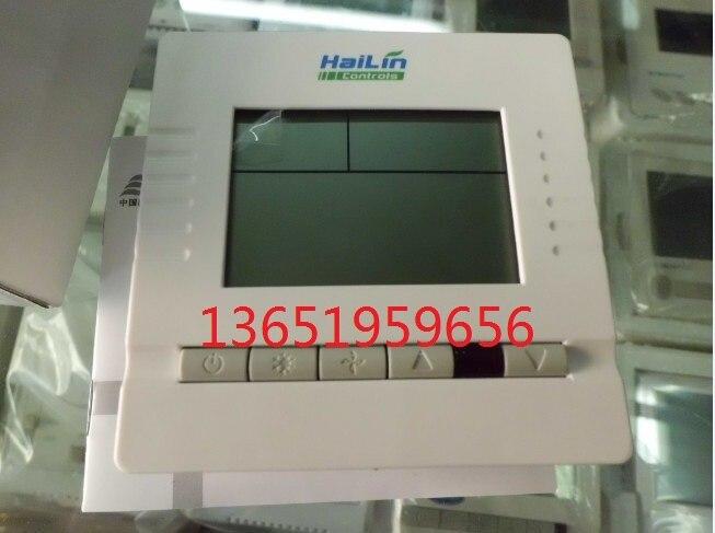 Thermostat hl2003db lcd temperature controller ventilation fan coil temperature controlled switch 5pcs lot ksd302x 20a 250v 92 centigrade 4 pin temperature controlled thermostat assembly thermostat new