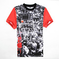 Mens Jordan  23 T Shirt Short Sleeve 3D Hip Hop T Shirt 2016 Men's Hipster Clothing Streetwear Tees shirts   XXL