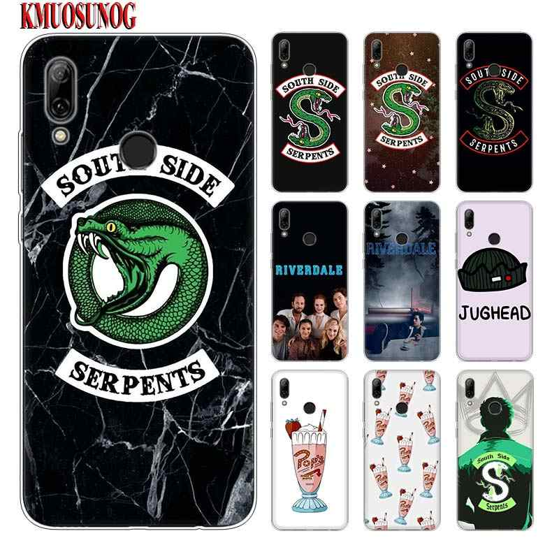 Silicone Phone Case Riverdale South Side Serpents for huawei P30 Lite P Smart Honor 7A 8 8A 8C 8X 10i Y5 Y6 Y7 Y9 Pro 2019 2018