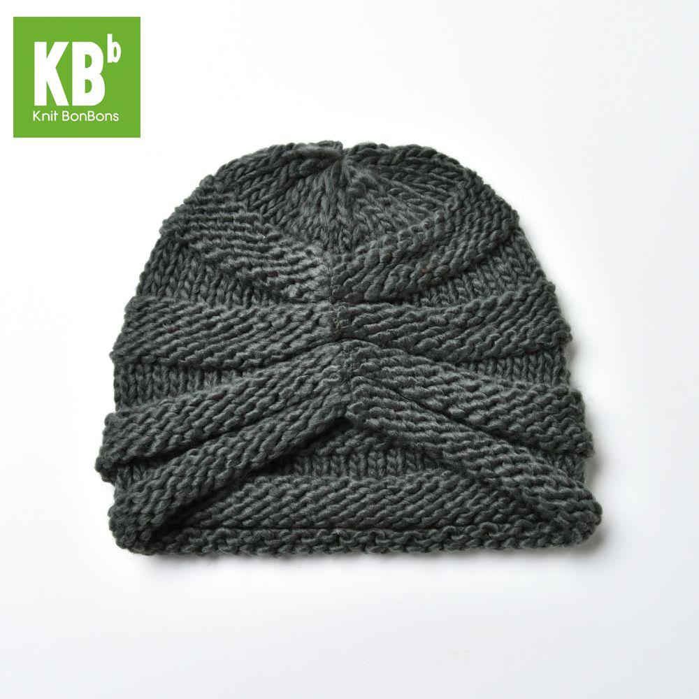 2017 KBB Spring     Kawaii Comfy Gray Ridged Pattern Designe Yarn Women Men Knit Delicate Winter Hat Beanie Female Cap