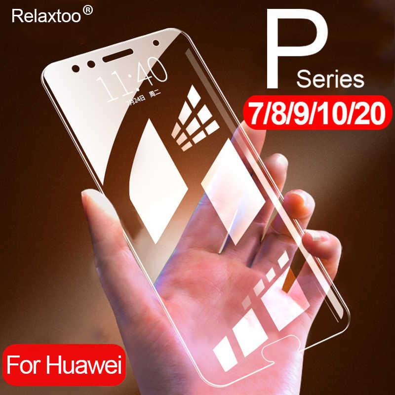 Vetro di protezione per huawei p20 p10 p9 p8 lite luce pro plus mini su hawei p smart p20pro p20lite schermo protezione p7 temperato