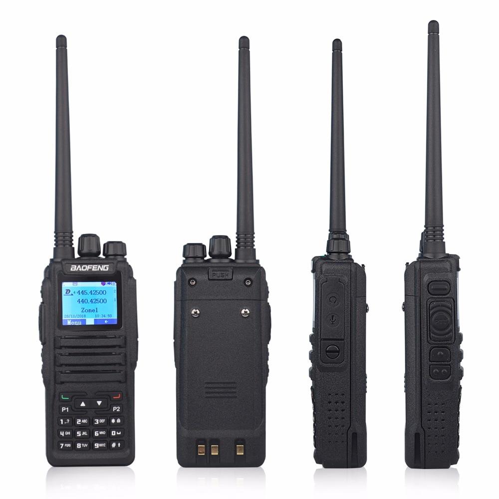 Walkie Talkie Baofeng Dmr Radio Dual Band Digital Walkie Talkie DM-1701 Dual Time Slot Tier II ( Dm-5r Plus Upgrade Version)