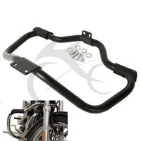 Mustache Engine Guard Highway Crash Bar For Harley Sportster XL883L Super Low Iron 883 1200 2009
