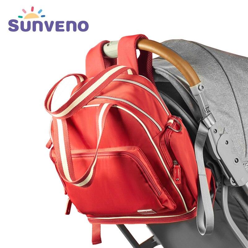 Sunveno mode bébé sac marque poussette sac maternité sac à couches grande capacité voyage sac à dos pour maman Bolsa Maternidade - 2