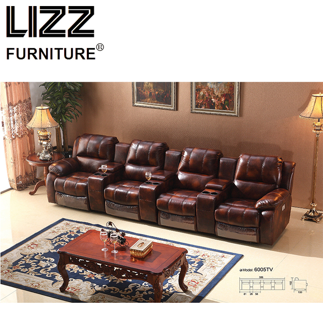 Electric Power Recliner Sofas Loveseat Chair Sectional Sofa Set Living Room  Furniture Modern Scandinavian Canape Leather