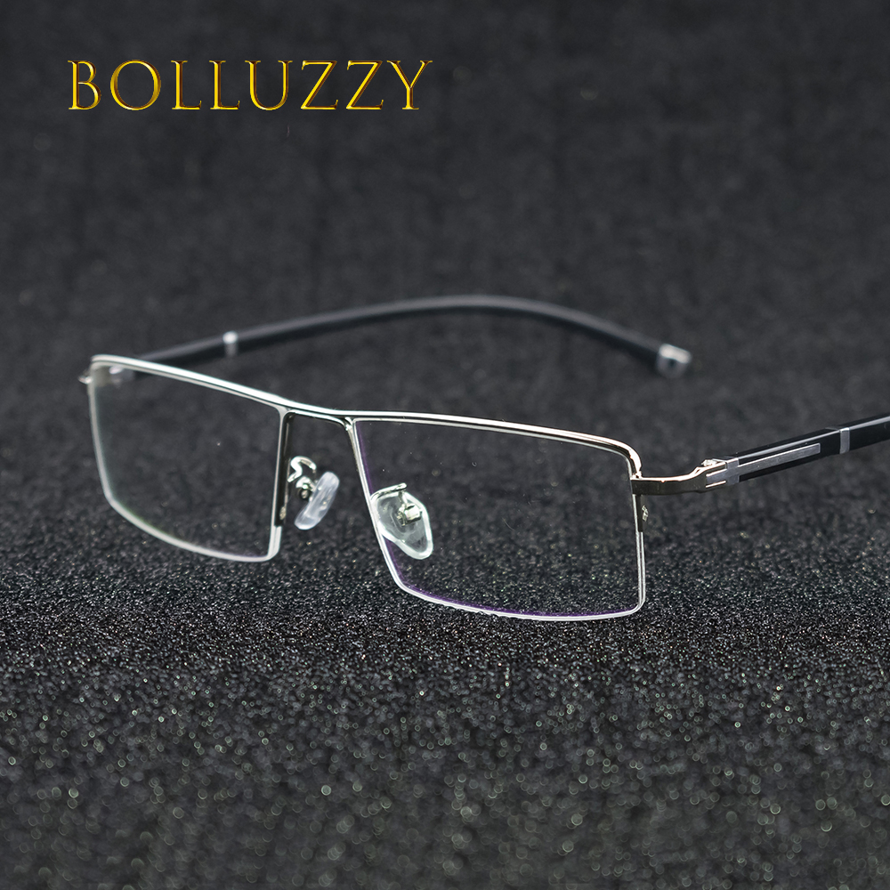 Vintage half rim prescription eyeglasses frame for men and women optical eyeglasses frame 56200 fashion eye wear