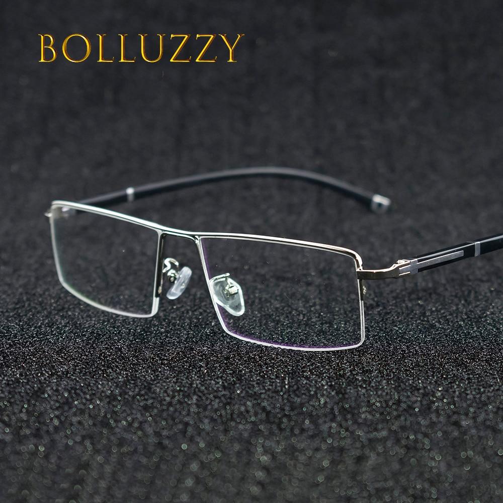 69fd6c6baa Vintage medio borde prescripción anteojos marco para hombres y mujeres gafas  marco óptico 56200 desgaste del ojo de la manera