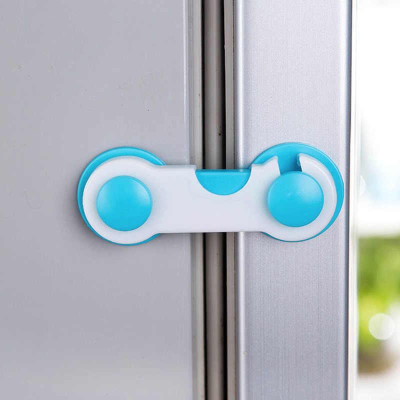 2 шт ящика двери шкафа шкаф туалет безопасности Замки Безопасность детей малышей Уход пластиковые блокировочные ремни детская защита
