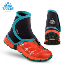 Shoe-Covers Running-Gaiters AONIJIE Protective-Wrap Low-Trail Outdoor Pair for Men Women