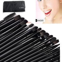 Vander Professional 32Pcs Makeup Brushes Cosmetics Brush Set Kabuki Foundation Powder Lipstick Tools Maquillaje With Pouch