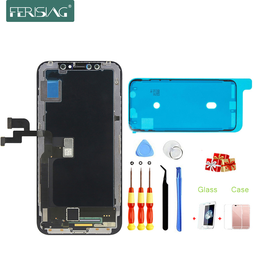 OEM AAA Grade LCD Für iPhone X XR XS Max LCD Display Original AMOLED für iPhoneX LCD Touch Screen Digitizer ersatz Montage