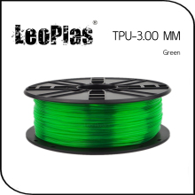 Worldwide Fast Delivery Manufacturer 3D Printer Material 1kg 2.2lb Soft 3mm Flexible Green TPU Filament