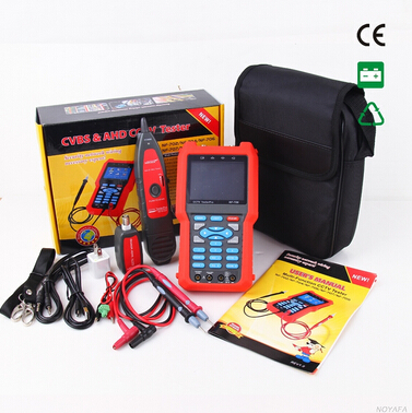 Free shipping, NOYAFA NF-706 3.5 inch screen cctv tester CVBS test & Multimeter & cable tester welcome to OEM бумбарам волшебные кристаллы синяя елочка